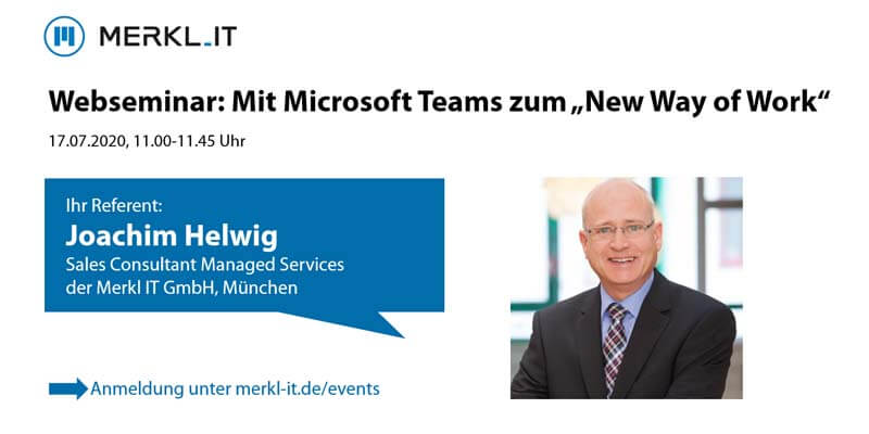 Webseminar Microsoft Teams